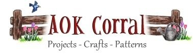 On this page you will find;  What's New on AOK Corral Craft and Gift Bazaar
