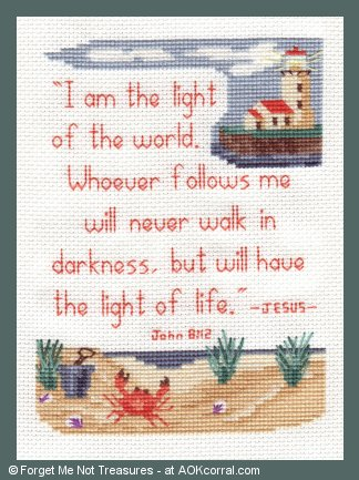 cross stitch scripture