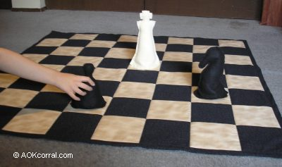 Giant Chess Board & Pieces