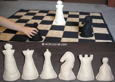 Large Chess Board & Pieces