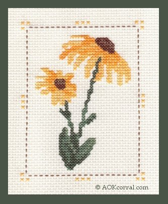 Cross Stitch Flower Patterns Flower Patterns For Cross Stitch Delectable Cross Stitch Flower Patterns
