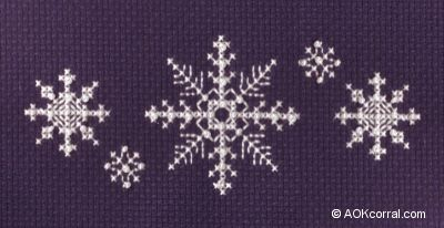 Snowflake Cross Stitch