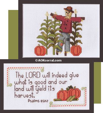 Scarecrow Cross Stitch