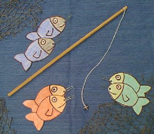 Easy Fishing Toy Set