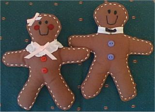 Gingerbread Doll Patterns