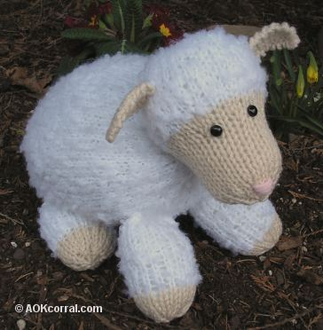 Knitted Lamb Pattern
