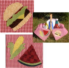 Applique Picnic Patterns