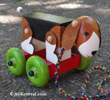 Easy to Make Wood Toy - Wood Toy Plans