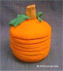 Pumpkin Coaster Set