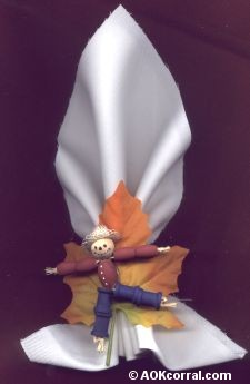 Scarecrow Napkin Rings