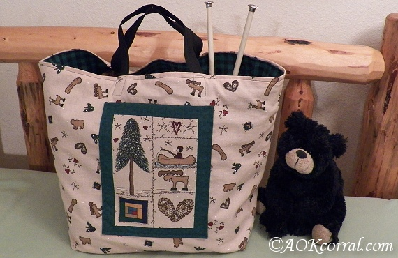 Tote Bag Sewing Pattern - Easy Tote Bag Pattern