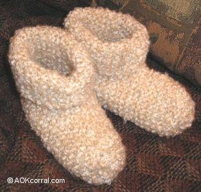 to projects knitting how to knit slippers easy knit slippers