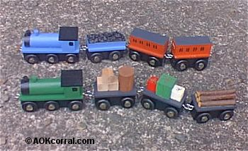 Wooden Trains Project