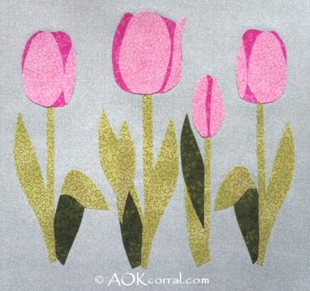 Tulip Applique