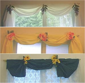 No-Sew Valances
