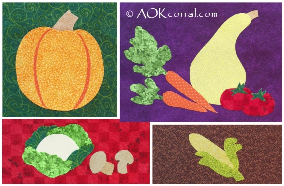 Vegetable Applique