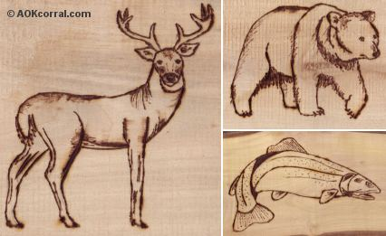 Wood-Burning Patterns
