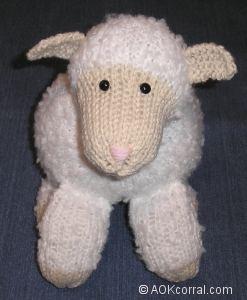 Plymouth Yarns Free Knitting Patterns : KNITTED LAMB PATTERNS 1000 Free Patterns